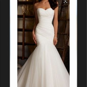 * SOLD * Mori Lee formal or wedding gown.